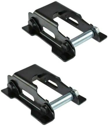 YHA Rear 4 years warranty Leaf Ranking TOP3 Spring Shackle Repair Pair Set Kit with Compatible