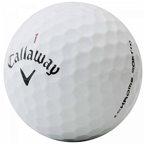 LBC-Sports 50 palline da golf Chrome Soft di Callaway, di qualità AAA, palline usate, lake balls