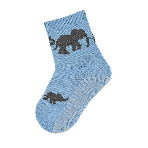 Sterntaler Söckchen, Fliesen Flitzer Air, Elefanten-Motiv, Größe: 20, Hellblau (Himmel)