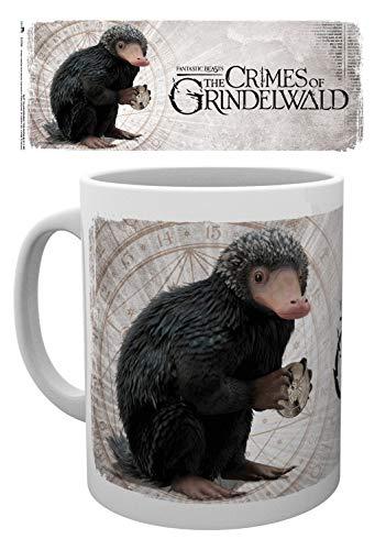 1art1 Phantastische Tierwesen 2, 2, Niffler Foto-Tasse Kaffeetasse (9x8 cm) Inklusive 1x Überraschungs-Sticker