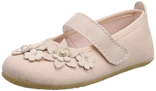 Living Kitzbühel Damen Ballerina mit Blumen & Nieten Hausschuhe, Pink (Rosewater), 38 EU