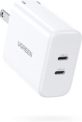 2021 UGREEN USB C Charger 40W Dual 2021 USB C PD Fast Charger Block 2-Port 20W USB discount C Power Adapter Foldable Plug Compatible with iPhone 12 Mini 12 Pro Max SE 11 Pro XR iPad Pro AirPods Galaxy S10 S9 and More online sale