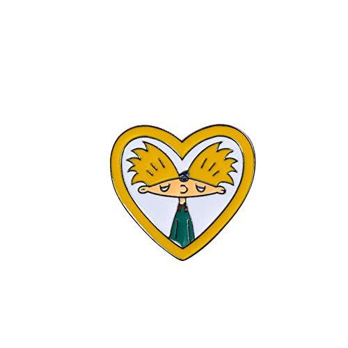 Broschen Anstecknadeln Für Damen,(6 Pc) Cartoon Cute Dress Palm Burger Kaffee Persönlichkeit Corsage Kragen Pin/Für Frauen Mode Anti-Light Unisex Bekleidung Abzeichen Brosche Pins