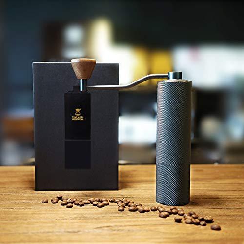 Timemore Slim Plus Version NEU | Hand Kaffeemühle Espressomühle | sehr leicht und handlich | edel und hochwertig | Edelstahlmahlwerk