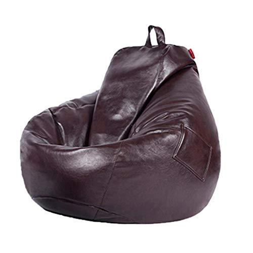 WALNUT Sofás Cubiertas Sillas sin Relleno Lino Cuero Asiento Tumbona Puff Sofá Tatami Muebles de Sala de Estar (Color : B)