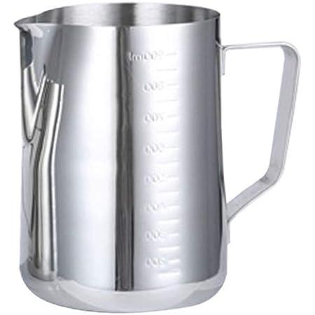 latte caff/è 2 l per cucina Kitchnexus latte Misurino in acciaio inox cappuccino