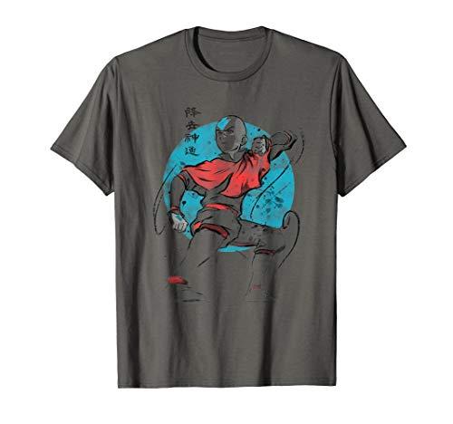 The Last Airbender Aang Air Signs T-Shirt