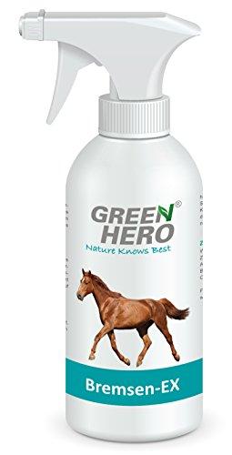 Green Hero Bremsen-EX für Pferde, Schützt vor Insekten, 1 x 500 ml