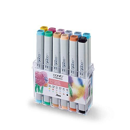 Copic Marker Pastel Set (Paquete de 12)