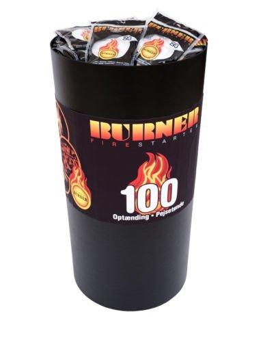10 x BURNER KAMINANZÜNDER ZÜNDBEUTEL 100er