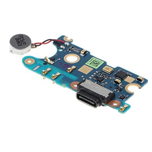 Gazechimp Cargador USB De Repuesto Puerto De Carga Cable De Cola Flexible, Placa De Conector De Acoplamiento para HTC U11.