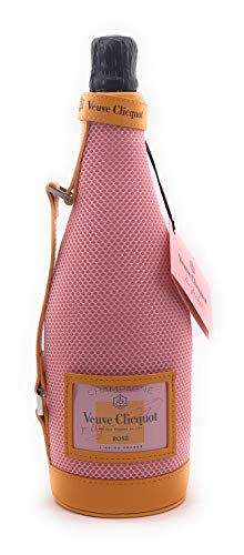Veuve Clicquot Rose Champagner 0,75l Ice Jacket 12{e5782a18d9acf91f334a6cc464bfc38f194adbcef204ff9b4a4196e24e9b6799} Vol Kühltasche mit Griff