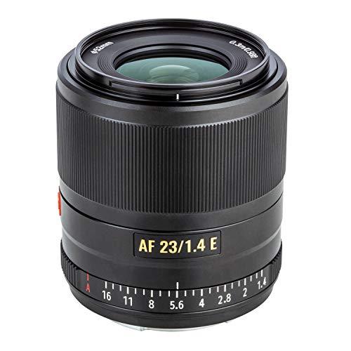 Auto-Focus Prime Lens VILTROX 23mm F1.4 APS-C Portrait Lens for Sony E-Mount Camera A7 A7II A7III A7R A7RII A7RIII A7RIV A7S A7SII A9 A9II A6000 A6100 A6300 A6400 A6500 A6600