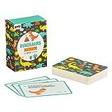 Petit Collage PTC474 Trivia Quiz Cards-Dinosauri, Multi