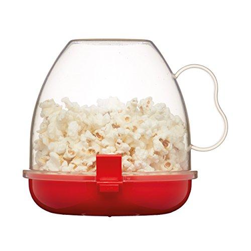 Kitchen Craft - Macchinetta per Popcorn da microonde, 1,1 l