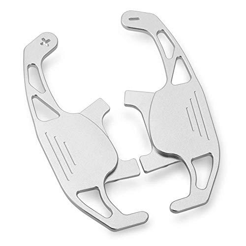 Fdnmld Paletas de Cambio de Volante de 2 Piezas Paleta de Cambio de aleación de Aluminio Resistente y Duradera para Golf GTI R GTD GTE MK7 7 Polo GTI Scirocco 2014-2019gray