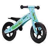 Nicko Children's Wooden Balance Bike - Running Bike - First Bike - Training Bike (Crocodile 862)
