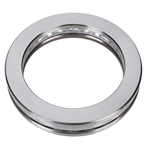 Axial Thrust Ball Bearing, Strong Load-Bearing Capacity 51120 Thrust Ball Bearing Good Rotation Smooth for Industrial Accessories