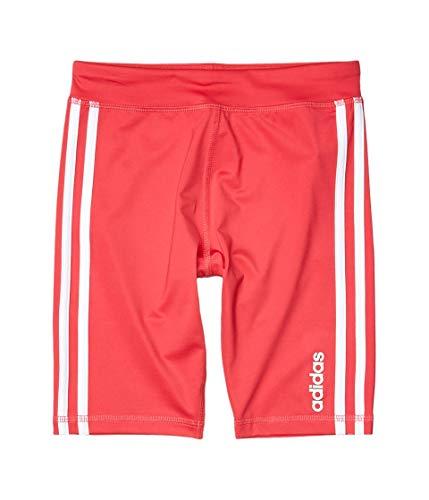 Adidas - Pantalones cortos para bicicleta para niña (niños grandes) - Rosa - 14 años