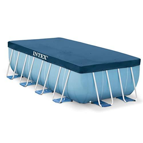 vidaXL Intex Poolplane Rechteckig 400 x 200 cm 28037