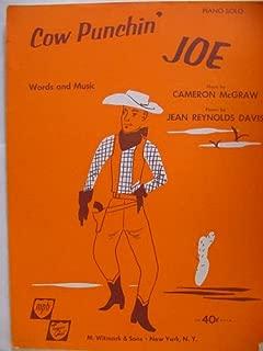 Cow Punchin' Joe (Piano Solo)