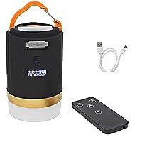 携帯キャンプライト3モードUSB充電式LEDテントライト緊急電源、釣り、ハイキング、屋内屋外照明のための屋外の作業ライト