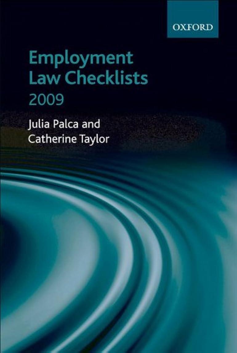 頑張るページカーペットEmployment Law Checklists 2009 (English Edition)