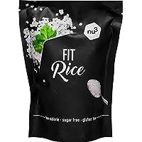 nu3 Arroz Fit - 200 g de arroz konjac bajo en calorías - 14 kcal en cada porción - Natural rice con glucomanano - Granos de arroz sin gluten y sin azúcar - Guarnición perfecta