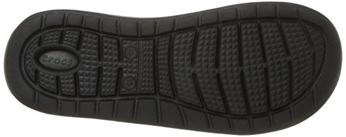 [クロックス]サンダルライトライドスライドメンズブラック/スレートグレー28.0cm