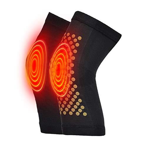 Diantai 1 Paar wärme Kniebandage Knieschützer Kniewärmer Selbstheizungskissen Kniestütze Unterstützung Knieschoner