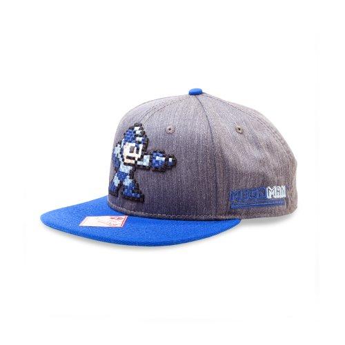 Megaman-l'attaque réglable snap back-casquette baseball cap bonnet chapeau & lizensiert original