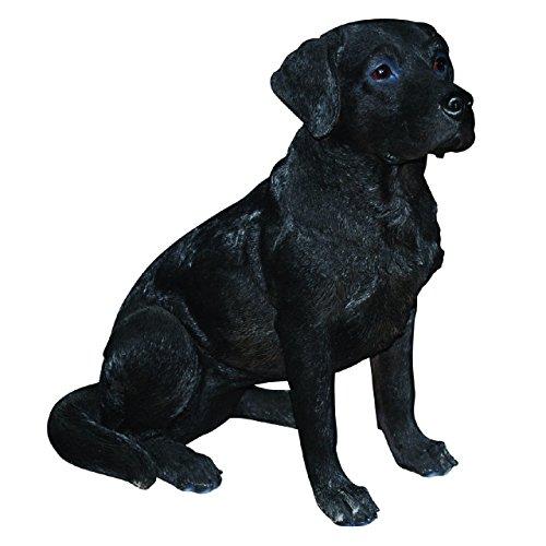 Vivid-Arts-Real-Life-Figur Labrador, schwarz, Grüße L