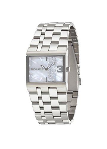 INTELIHANCE. 10501BS/28MA - Reloj de Cuarzo para Mujer, Correa de Acero Inoxidable Color Plateado