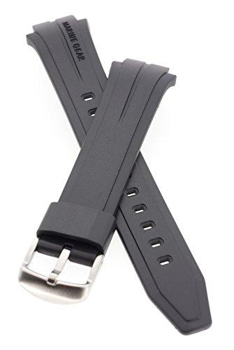 Casio 10212447 Ersatz-Harzband mit Pins, passend für Marine Gear MRP-700 und andere