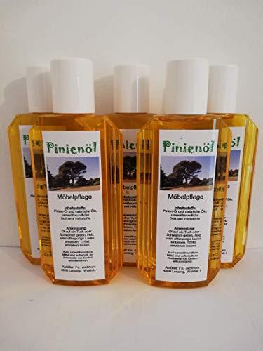 Pinienöl, Holzöl und Holzpflege, 200ml, hochwertige und natürliche Öle, 5er Pack