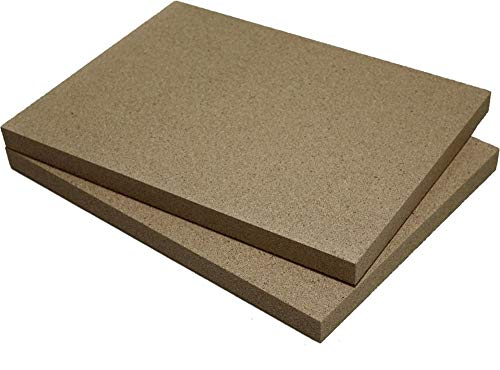 Vermiculite-Platte (2, 500 x 300 x 30 mm)