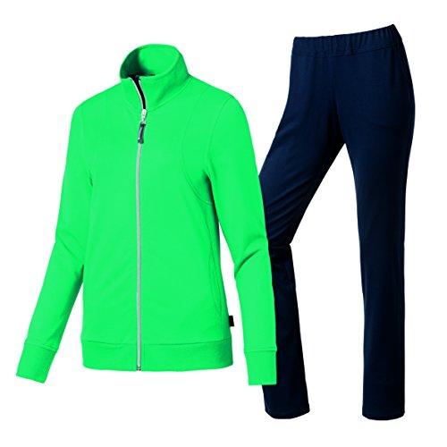 Schneider Sportswear Danielle-pak sport-/vrijetijdspak dames, greenaqua/donkerblauw.