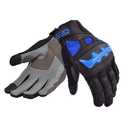 ACEACE Motorrad-Sammlung Handschuhe Racing Rally Handschuhe Reithandschuhe (Color : Blue, Size : M)