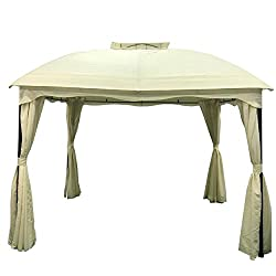 Great Deal Furniture Water Resistant Fabric Soft top Gazebo