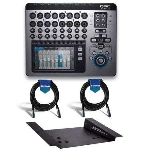 Check Out This QSC TouchMix-16 Version 3.0 22-Channel Touchscreen Compact Digital Audio Mixer - Bund...