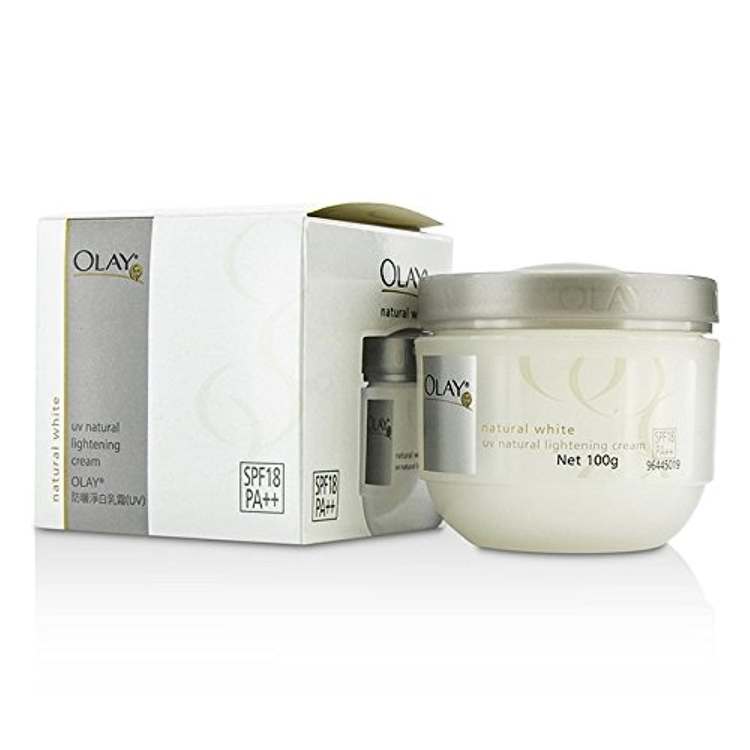 株式問い合わせる巨大なオレイ ナチュラルホワイト UV ナチュラルライトニングクリーム SPF18 100g/3.5oz並行輸入品