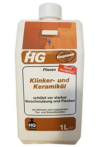 3 x 1 L HG tegels klinker- en keramische olie 3 L