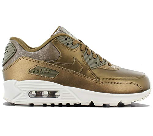 Nike Air Max 90 Premium Metallic BronzeMetallic Field (Womens) (9 B(M) US)
