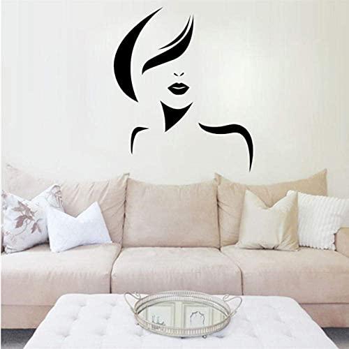 Etiqueta De La Pared Gafas De Sol Mujer Etiqueta De La Pared Labios Vinilo Pegatinas De Pared Niñas Dormitorio Patrón Extraíble Interior Arte Mural
