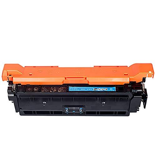 CE250A Cartucho de Tóner, AHXN de Alta Capacidad HD con Chip para HP 504A CP3525N 3525X CM3530 Color Printer Cartridge, color azul size