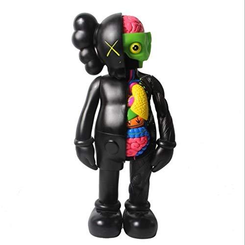 """LRWTY KAWS Kunst Spielzeug!Original Fake Art Spielzeug Dissected Companion Modell Action-Figur Figurine/Hauptdekoration Schlafzimmer Kunstwerk Sammler Modell Spielzeug for 8\"""" ("""