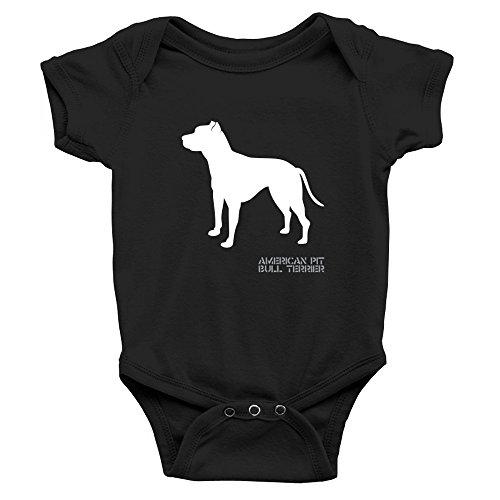 Teeburon American Pit Bull Terrier Body de bebé