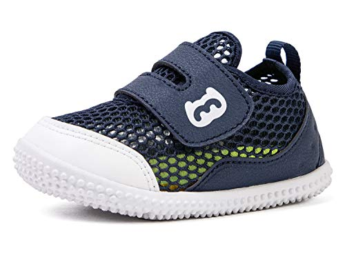 BMCiTYBM Baby Sneakers Girls Boys Mesh First Walkers Shoes 6 9 12 18 24 Months Navy Size 12-18 Months Infant
