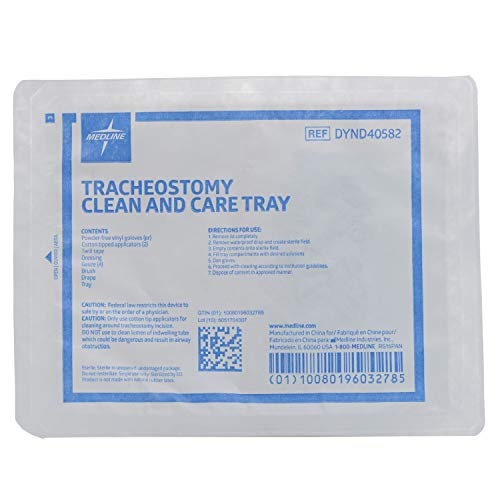 Tracheostomy Clean and Care Tray Kit Quantity: Case of 20