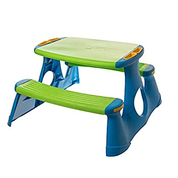 Starplay Children s Picnic Table and Bench Blue